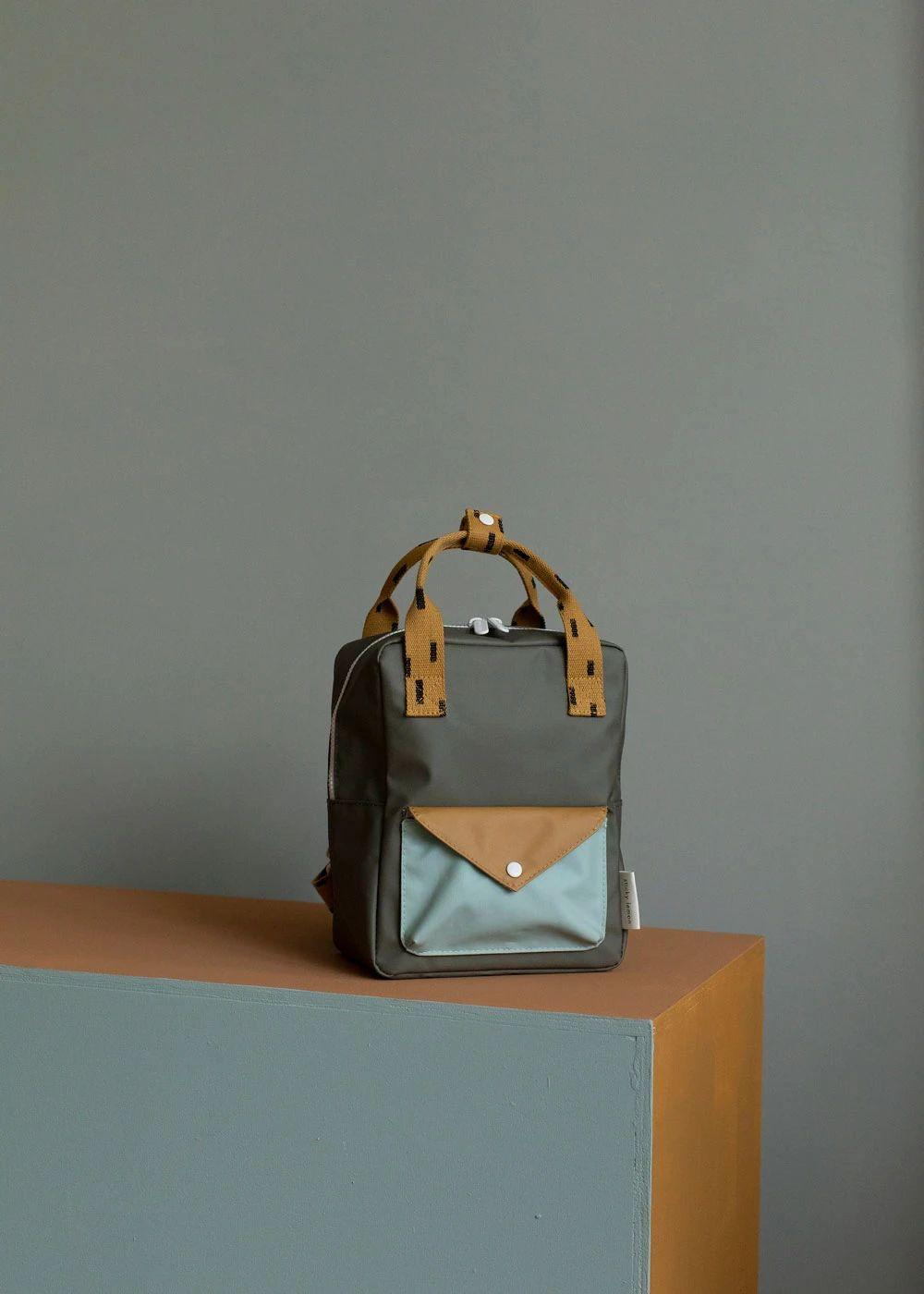 Small Backpack - Moss Sprinkles Envelope – bitte