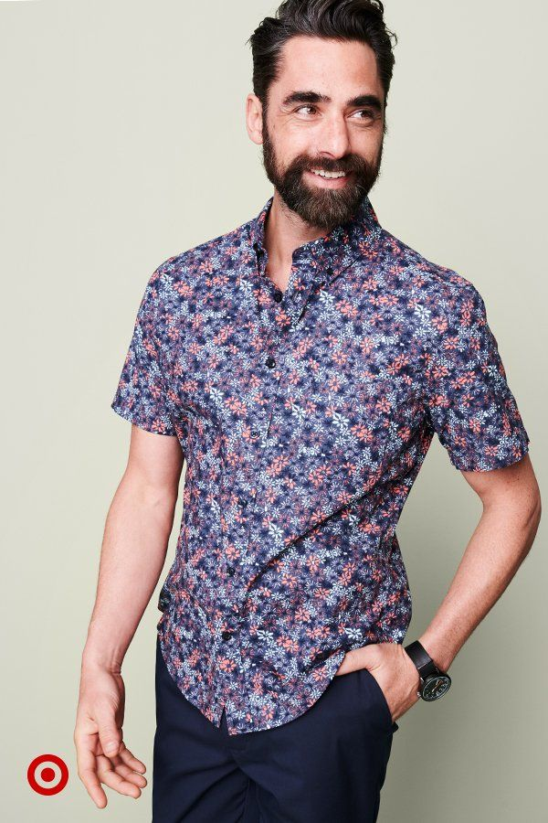 Give your style a boost with a bold, floral shirt. Find one (or a few) to suit your style & mix in with the rest of your closet.