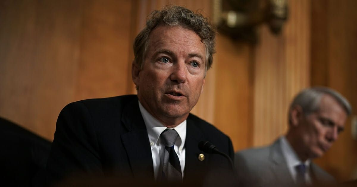 Rand Paul Joins Renegade Republicans in Attempt To Kill Trump's Emergency Declaration