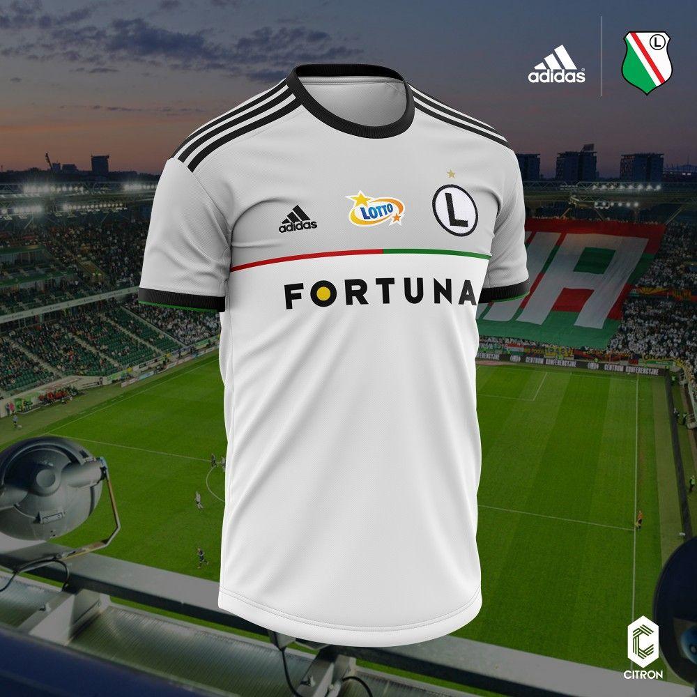 Legia Warszawa Koszulka Domowa 2020/2021 Legia Warszawa