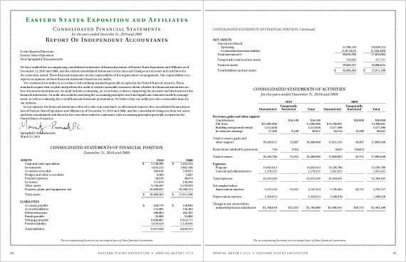 Sample Annual Report Of A Company Sample Annual Report Free - sample financial report
