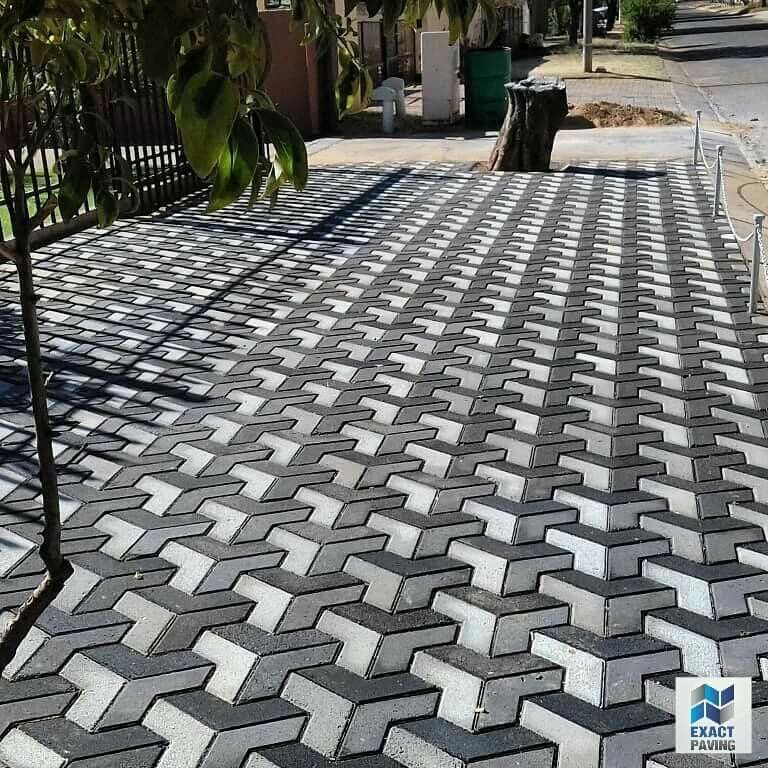 3d Paving Done In Klerksdorp Exact, Patio Paving Ideas South Africa