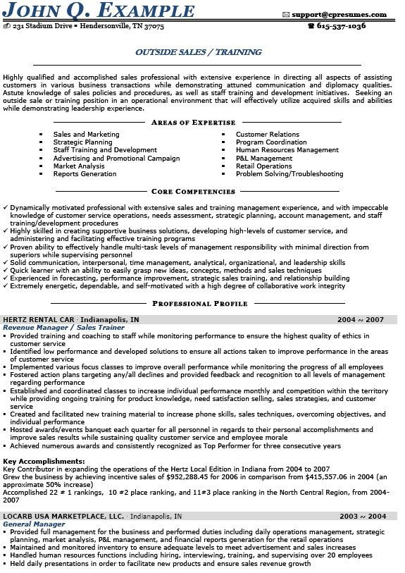 Resume Samples For Sales Careerperfect Sales Management Sample - auto sales resume