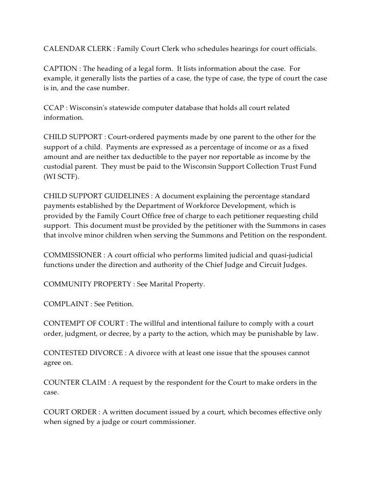 Examples Of Divorce Papers Divorce Forms Free Word Templates - divorce decree sample