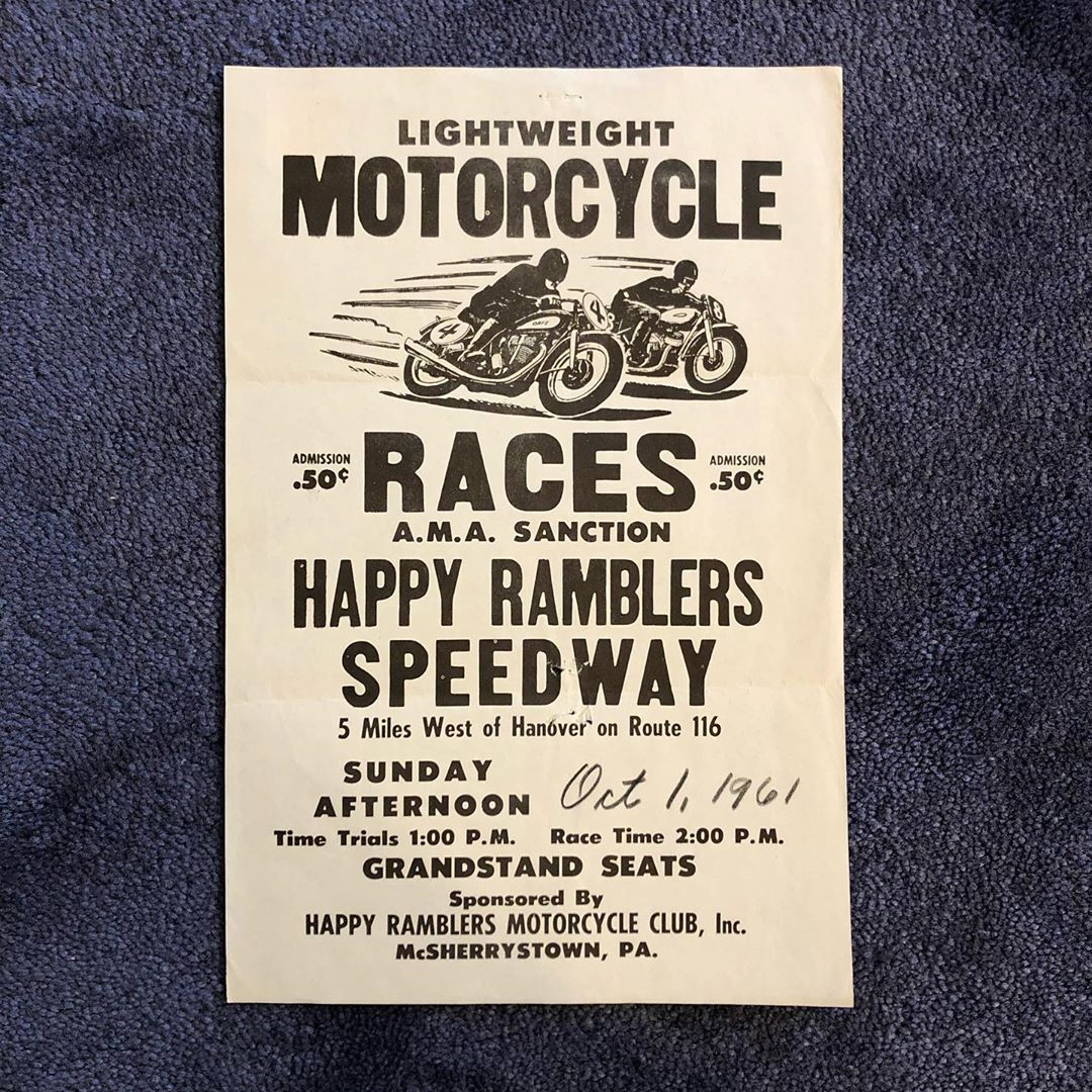 Motorcycle Races flyer