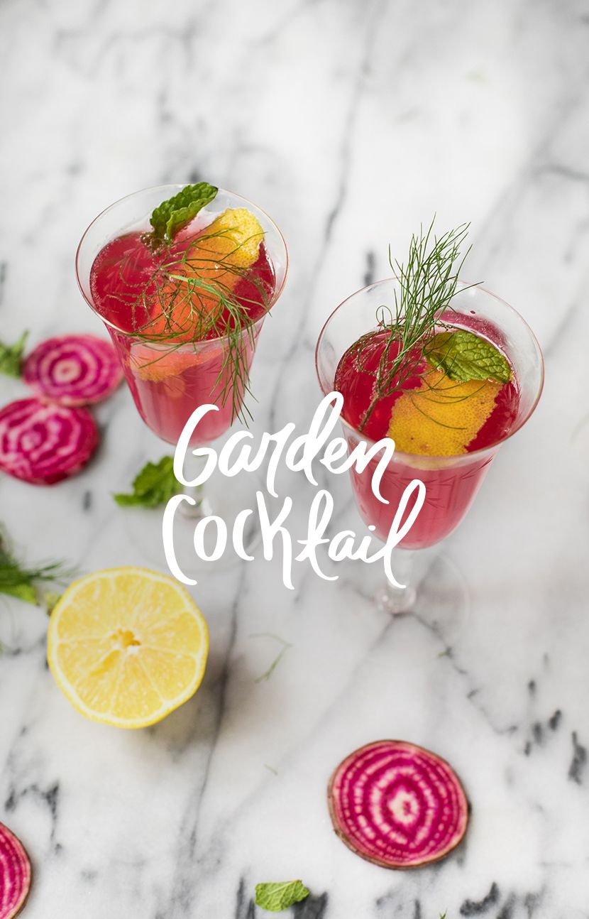 A Garden Cocktail for Your Weekend   Fresh Exchange
