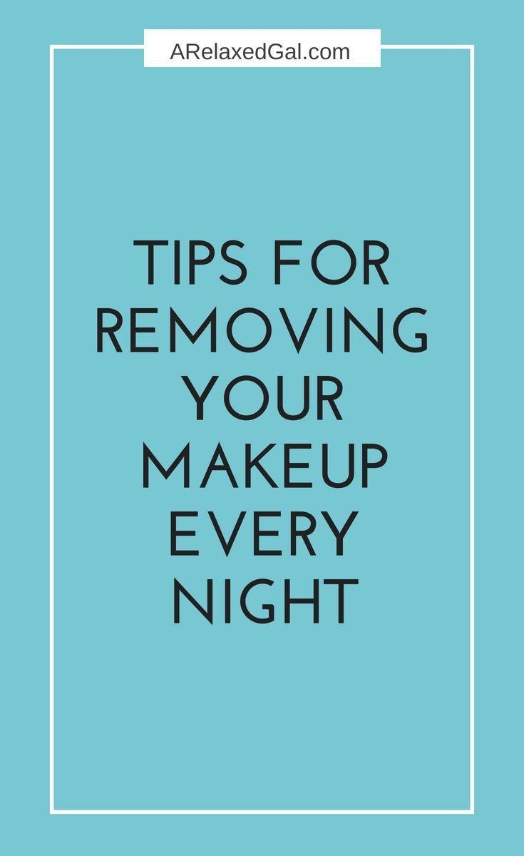 I know properly taking off makeup isn't a simple task. It takes a few steps and a few different products. Here are the 4 steps I follow to remove my makeup everyday. | A Relaxed Gal