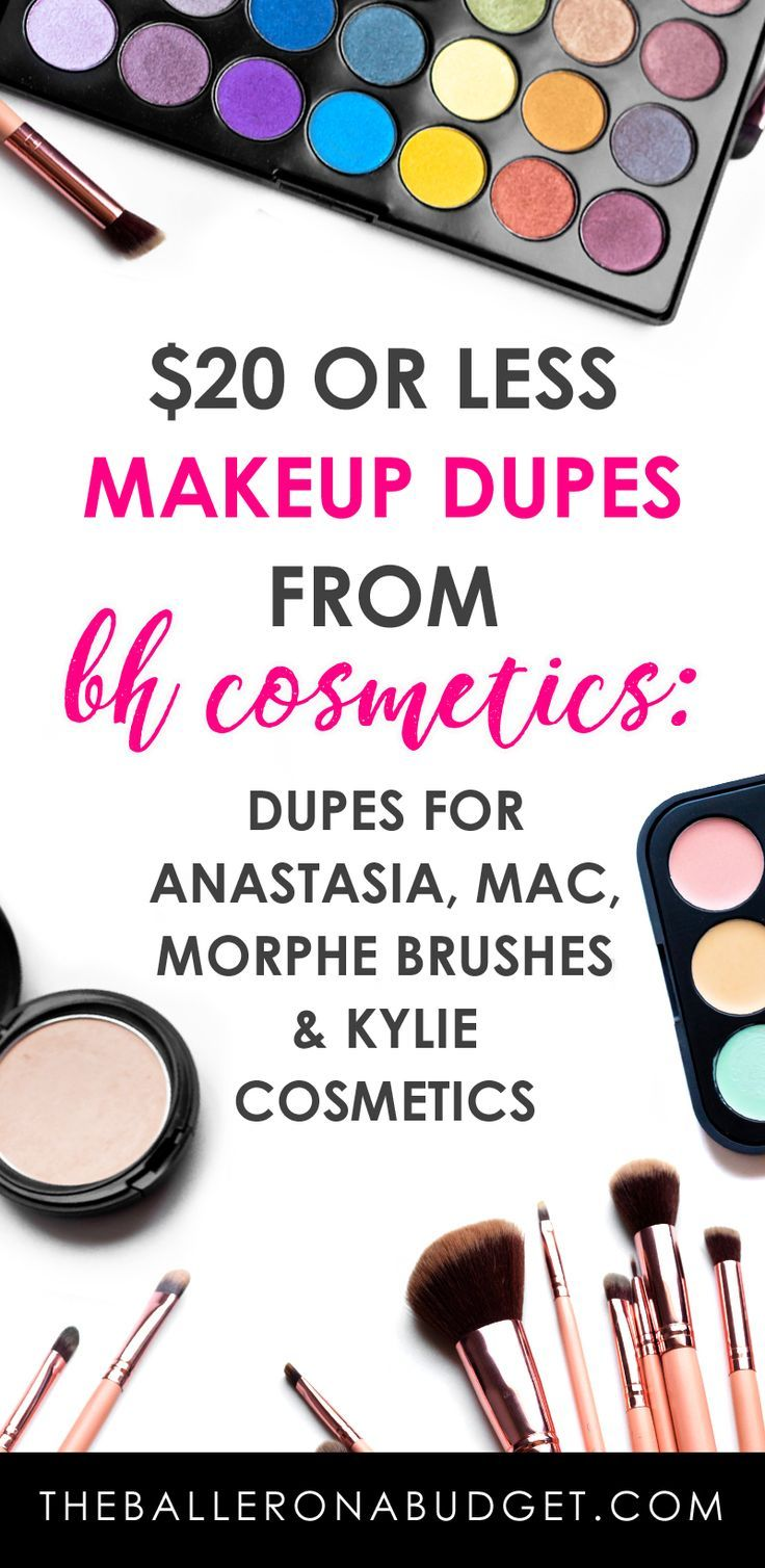 Looking for affordable makeup that compares to big brands like Anastasia, Kylie Cosmetics and MAC? My BH Cosmetics favorites are makeup dupes all under $20. – www.theballeronabudget.com