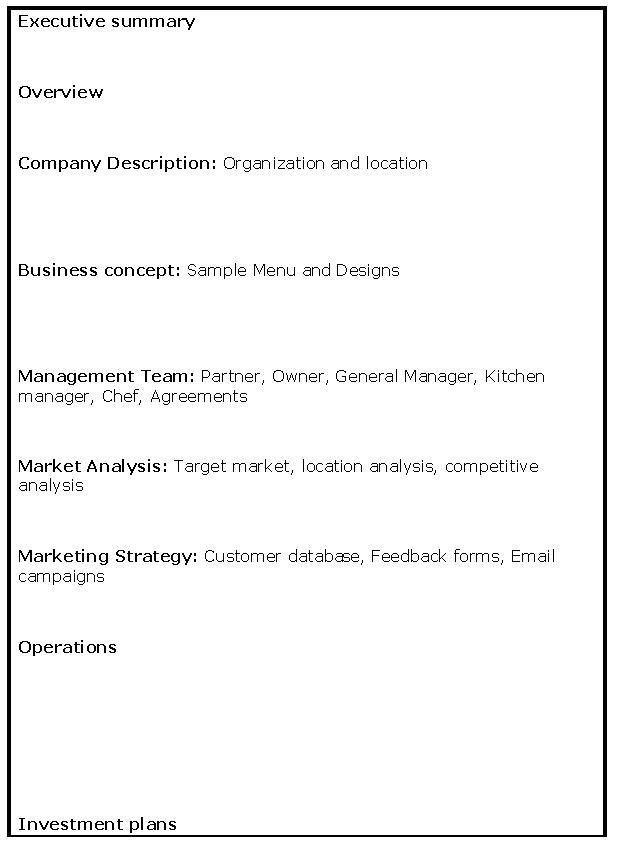 Sba Business Plan Template Sample Sba Business Plan Template 6 - sample small business plans