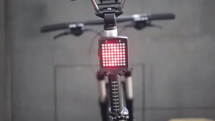 Rechargeable Bicycle Turn Light