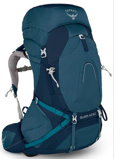 Comfort, style and the Almighty Guarantee. The Women's Aura AG 50 from Osprey.