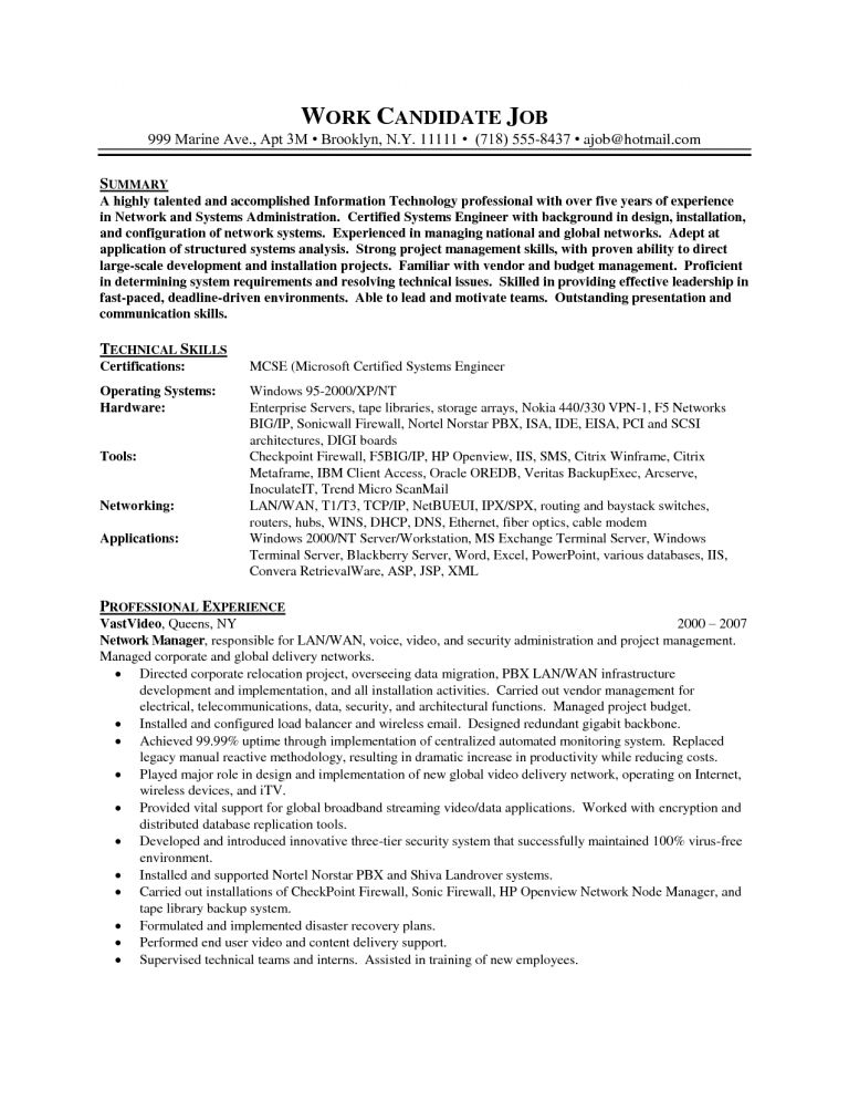 systems engineer sample resume cvresumeunicloudpl - Systems Engineer Sample Resume
