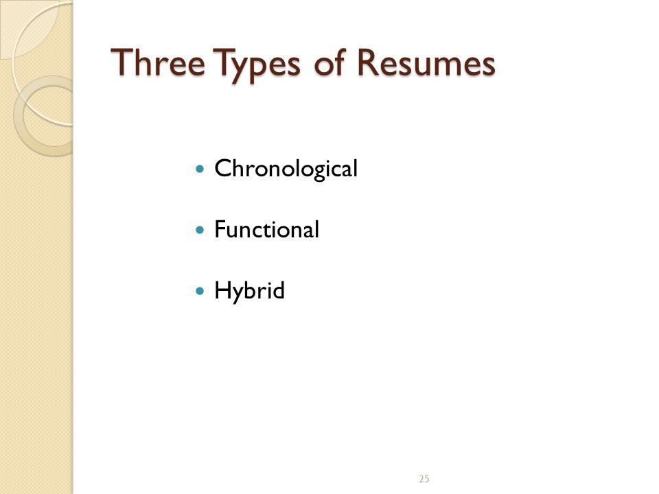 Kinds Of Resume Format student resume format 20 resume objective - 3 types of resumes