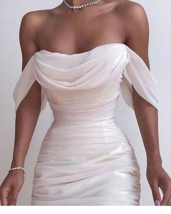 An amazing white dress