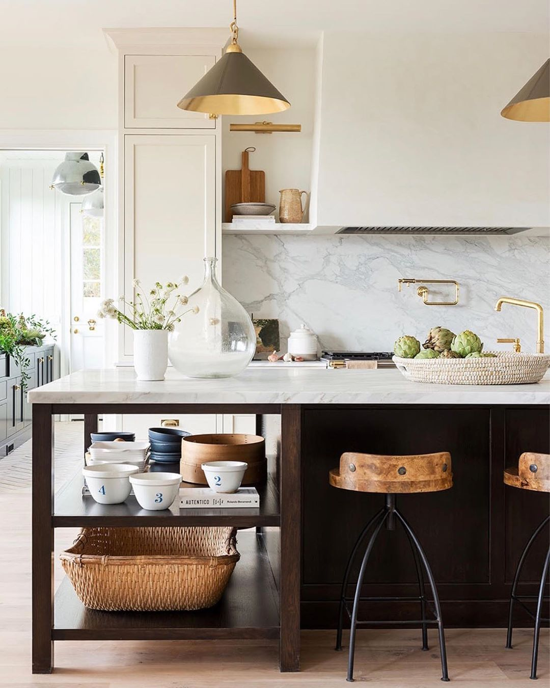 """Studio McGee on Instagram: """"I've been dreaming about this kitchen for years and plan to style it a thousand different ways - holidays, birthdays, everyday, styling…"""""""
