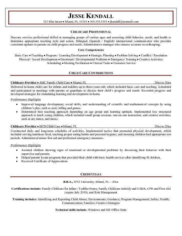 Sample Babysitter Resume Babysitter Resume Example Writing Guide - babysitter resumes