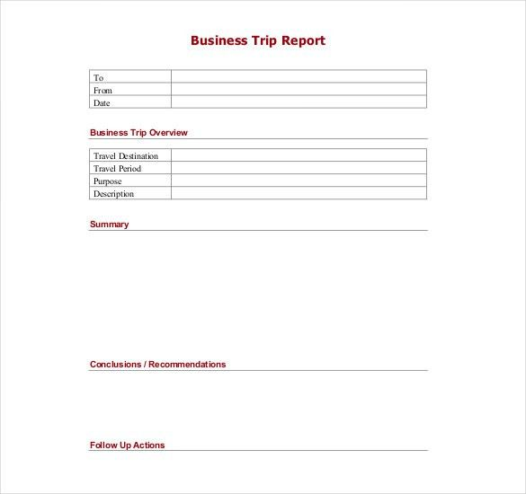 8 business report template free word documents download free - format for a business report