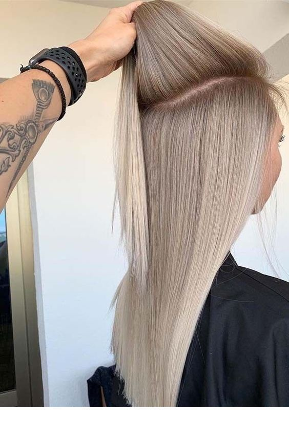 The perfect blonde hair and haircut
