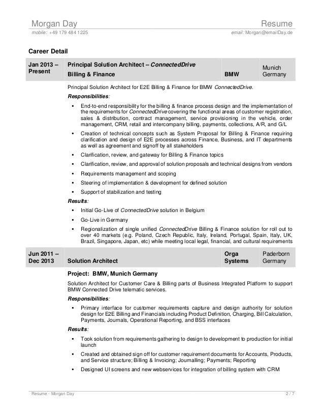 principal architect sample resume principal architect resume - Principal Architect Sample Resume