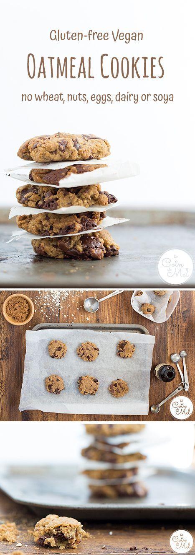 Allergy-friendly cookies (gluten-free vegan)