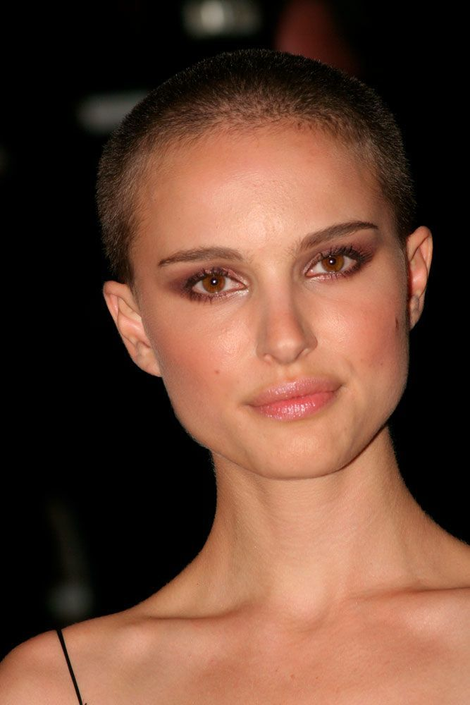 Short Brown Buzz Cut #shavedhead #natalieportman ★  A women buzz cut is a great way to not only upgrade your hair style to keep up with fashion but also claim your female power. So, if you're looking for some ideas, pick out from our versatile collection of the best girl buzz cuts rocked by celebrities, from a pixie hawk to a buzzed fade. #glaminati #lifestyle #buzzcut
