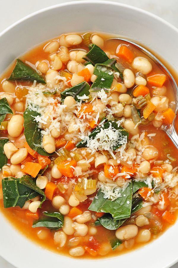 Slow Cooker White Bean Stew