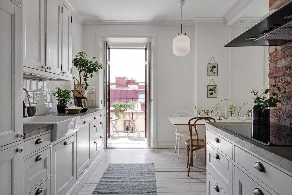 Un precioso apartamento nórdico con detalles low cost