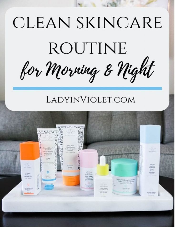 clean skincare routine for morning and night | Drunk Elephant Product Review | Houston Beauty Blogger Lady in Violet #skincare #beautytips #skincareroutine