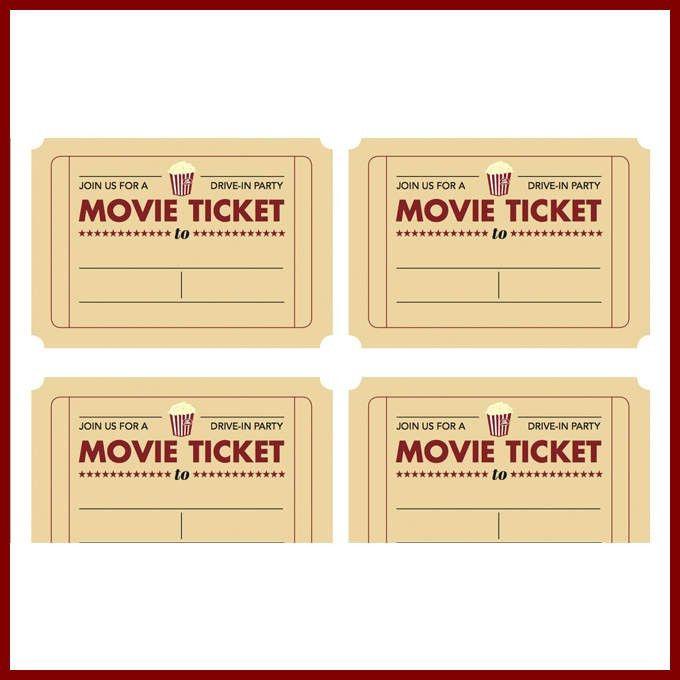 Free Ticket Template Printable Best 25 Ticket Template Ideas On - movie ticket template for word