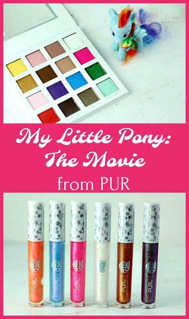 The My Little Pony makeup collection is so much fun! Add these to your makeup regimen. These fun colors are perfect for your makeup routine. Beauty makeup Includes swatching makeup Pur makeup This is great colors for unicorn makeup #pur #purmakeup #mylittlepony #mlp #makeup #beauty