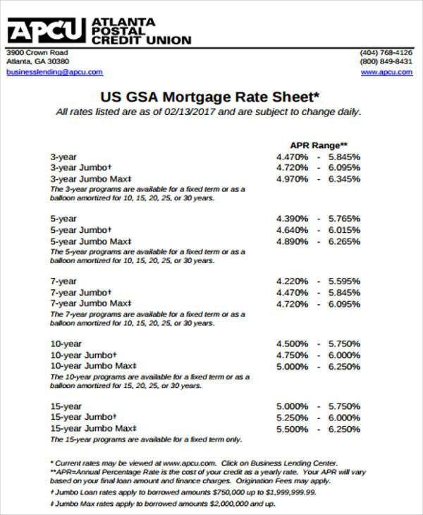 Rate Sheet Templates distributor price list template - 28 images - rate sheet template