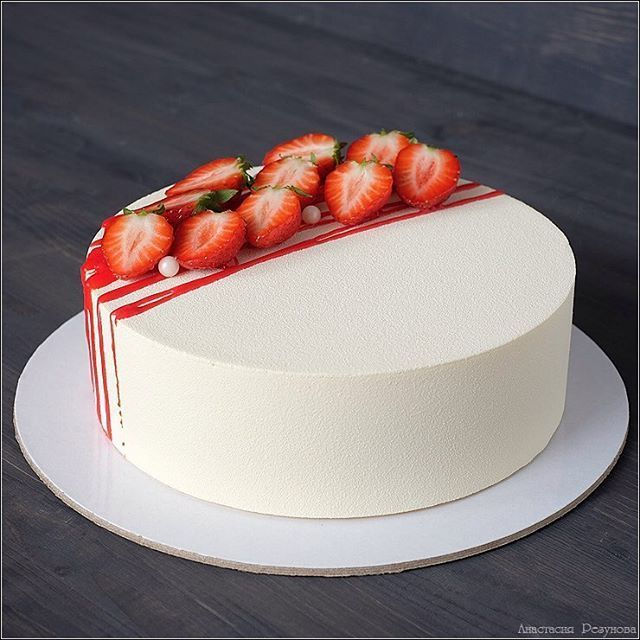 Cake Decorating Ideas with Strawberries