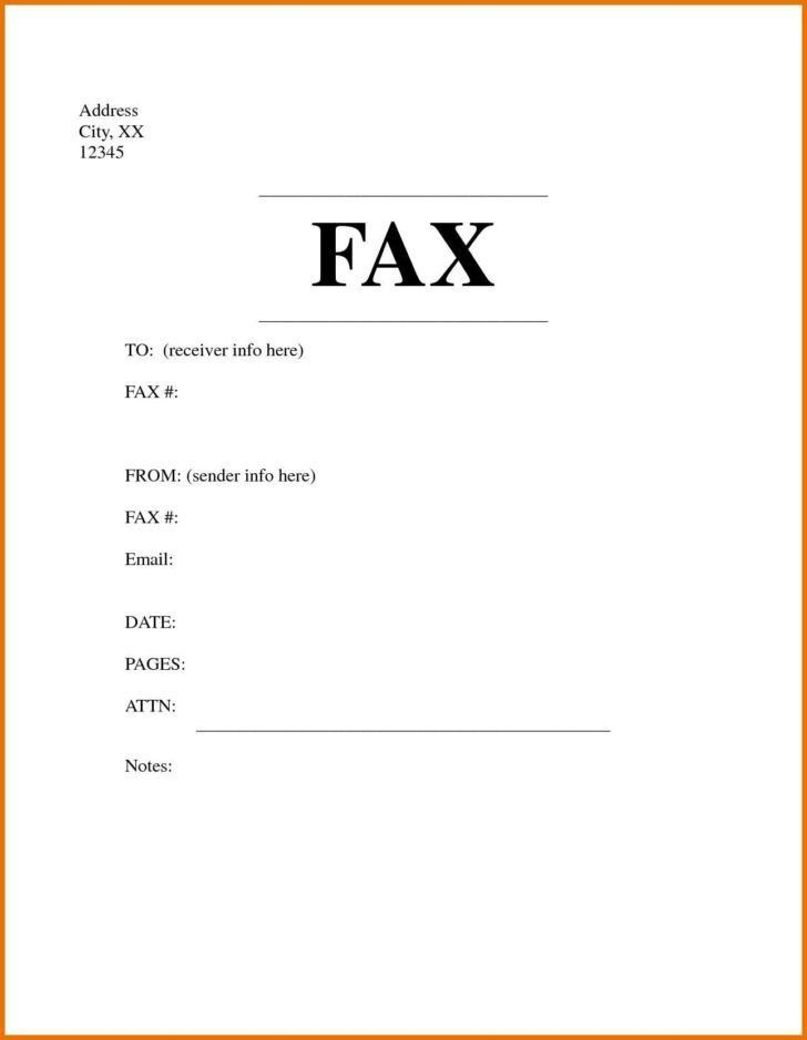 Ms Word Fax Cover Sheet Template Free Fax Cover Sheet Template - fax cover sheet templates