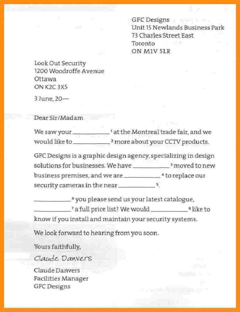 Enquiry Letter Format Letter Of Inquiry Sales Inquiry Letter - inquiry letter