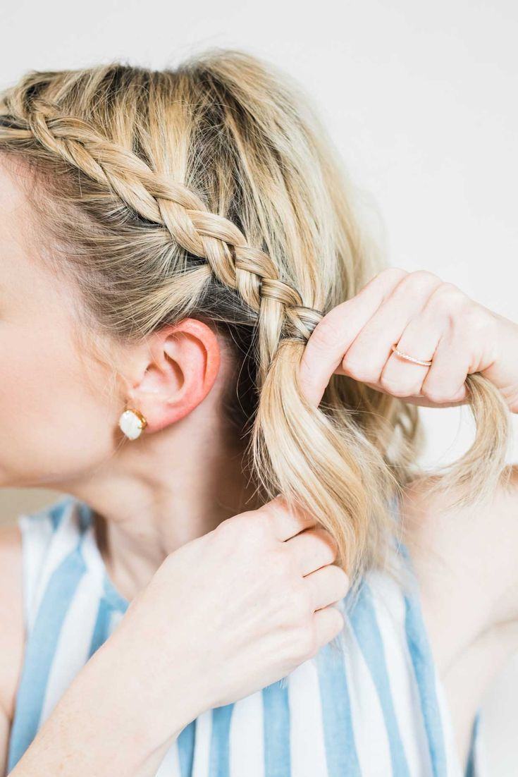 How To Do An Easy Side Braid Ponytail – Poor Little It Girl