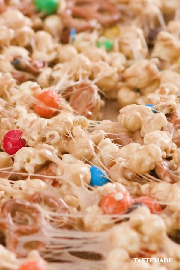 Sweet and Salty SmashMallow Popcorn