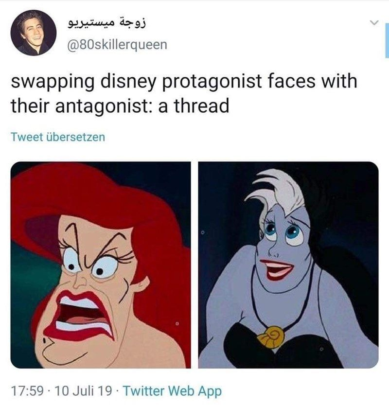 Boy these are hard to look at. #disney #funny #faceswap