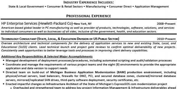 enterprise data management resume project architect resume