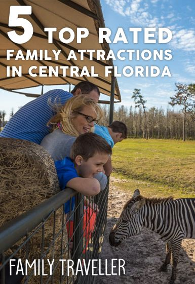 Top Rated Family Attractions in Central Florida