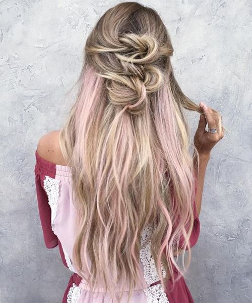 """Perfect Half Up Long Prom Hairstyles to Get An Elegant Look<p><a href=""""http://www.homeinteriordesign.org/2018/02/short-guide-to-interior-decoration.html"""">Short guide to interior decoration</a></p>"""