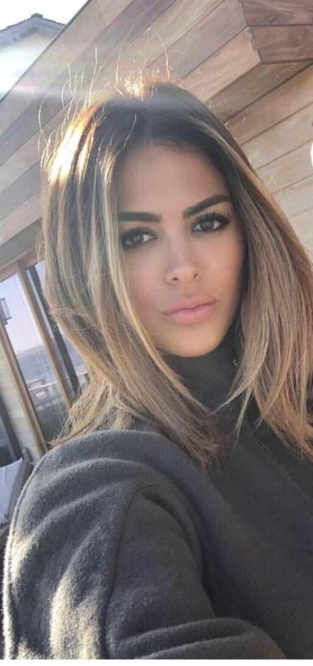 17 Ideas Hair Brunette Highlights Straight Colour For 2019 #hair