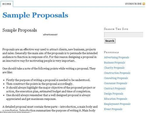 Construction Proposal Template Free Download Construction - proposal contract template
