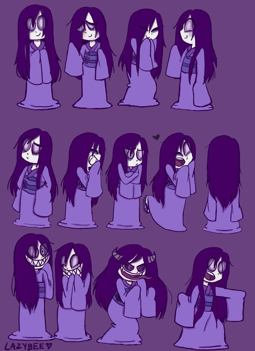 My Japanese Ghost girl OC: Umeko ^_^ ♡  Art, Ghost, Anime