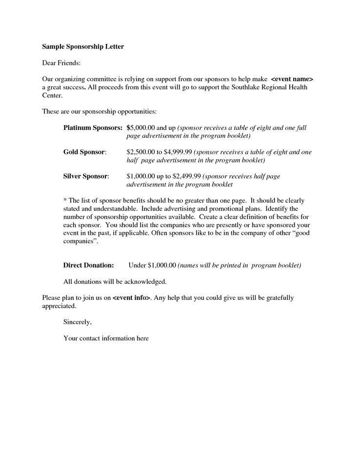 Sample Event Proposal Letter Write Event Proposal Letter - event proposal letters