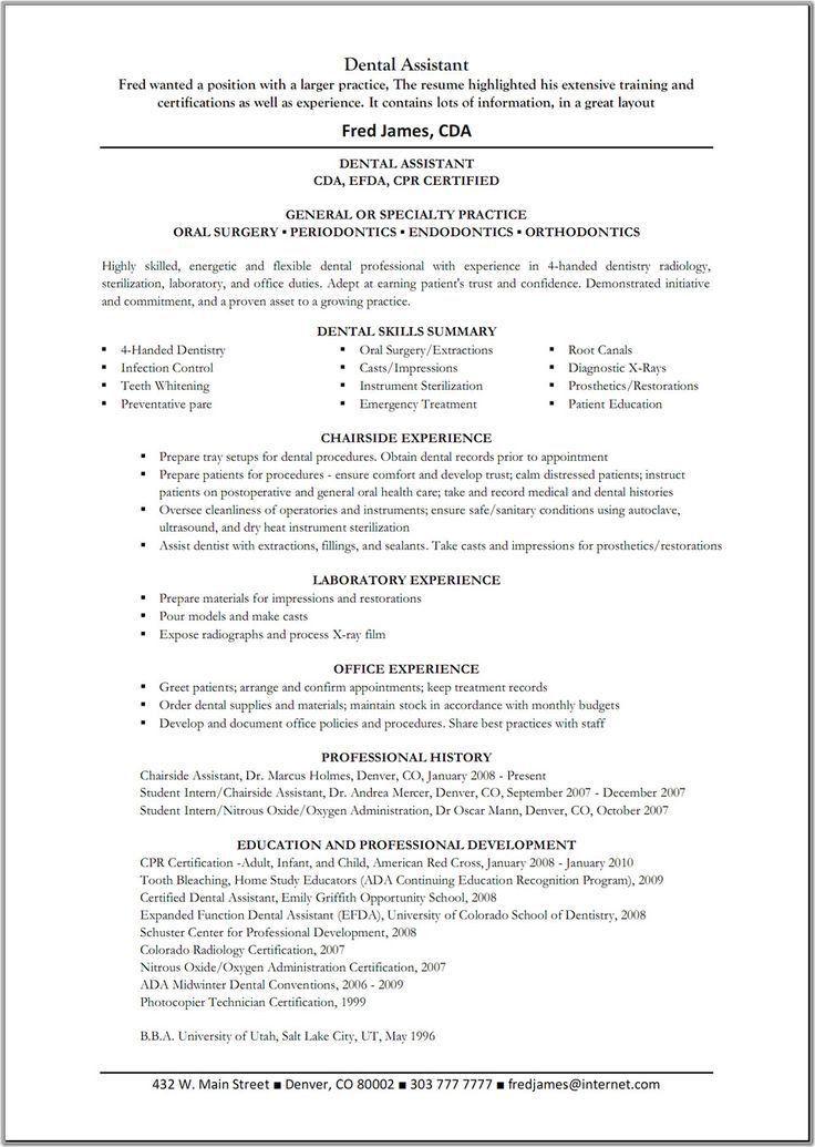 Dental Assistant Job Description sample dental office manager - resume examples for dental assistant