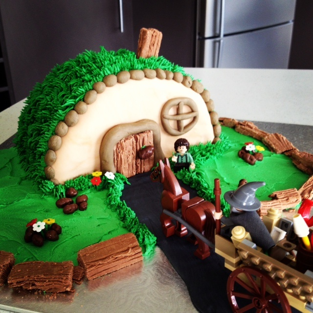 The Hobbit Cake Topper Kit Easy Way To Make Food For A