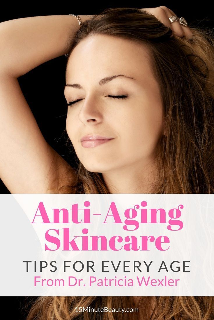 Did you know you should be fighting and preventing signs of aging as early as your 20s? What anti-aging skincare products should you be adding to your routine, and at what age?