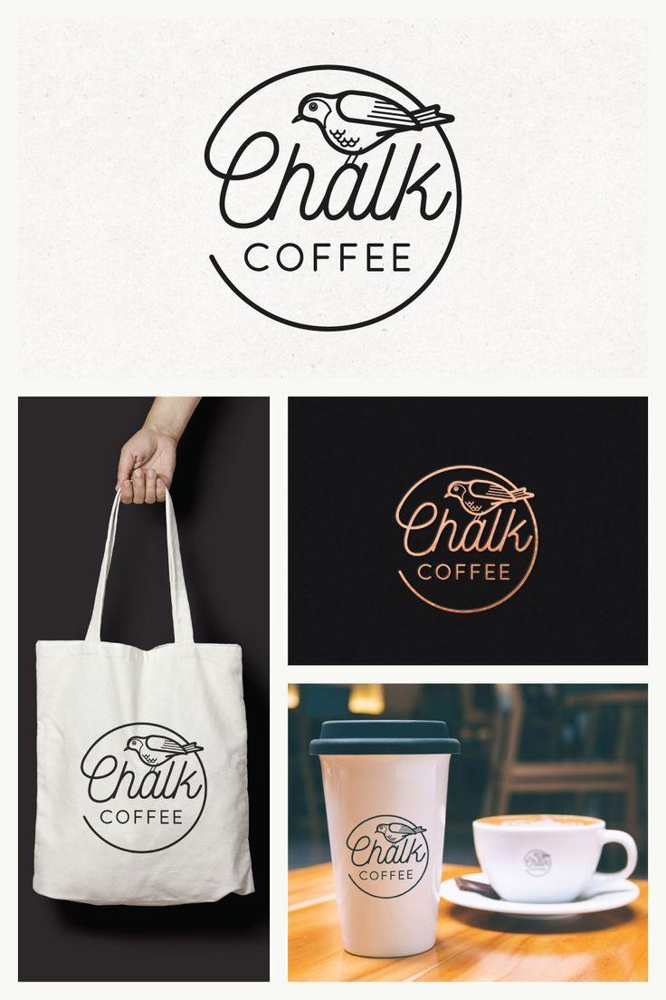 85 idées de logo de café pour les cafés et les cafés