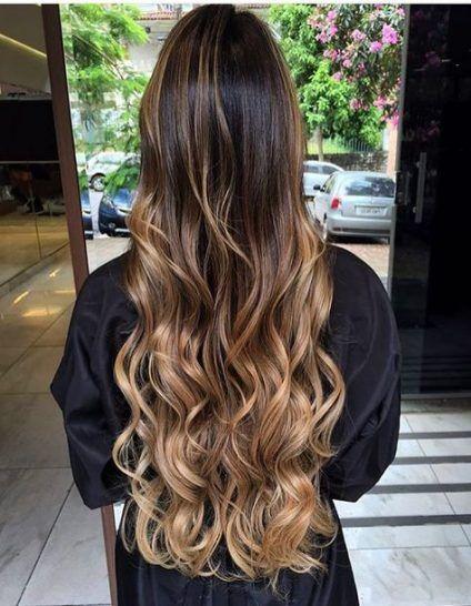 69+ Trendy Hair Balayage Caramel Long