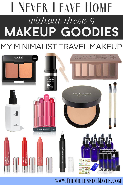 *UPDATED 2019* 9 Travel Makeup Must-Haves + Best Multi-Tasking Makeup | The Millennial Maven